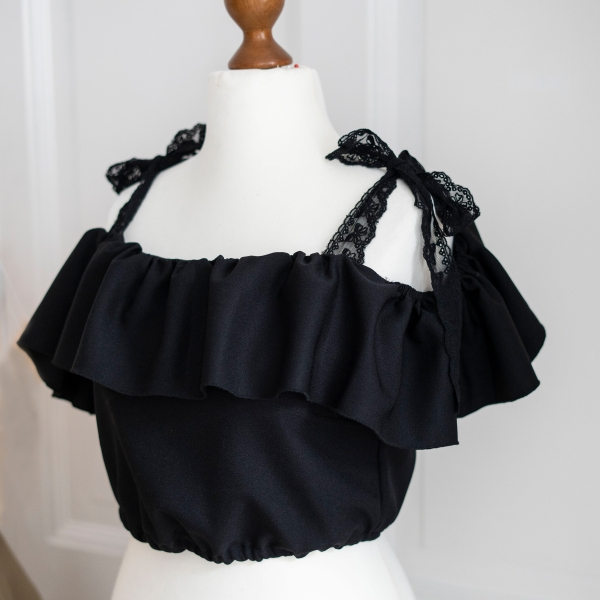 Latesummer Witch - Top black